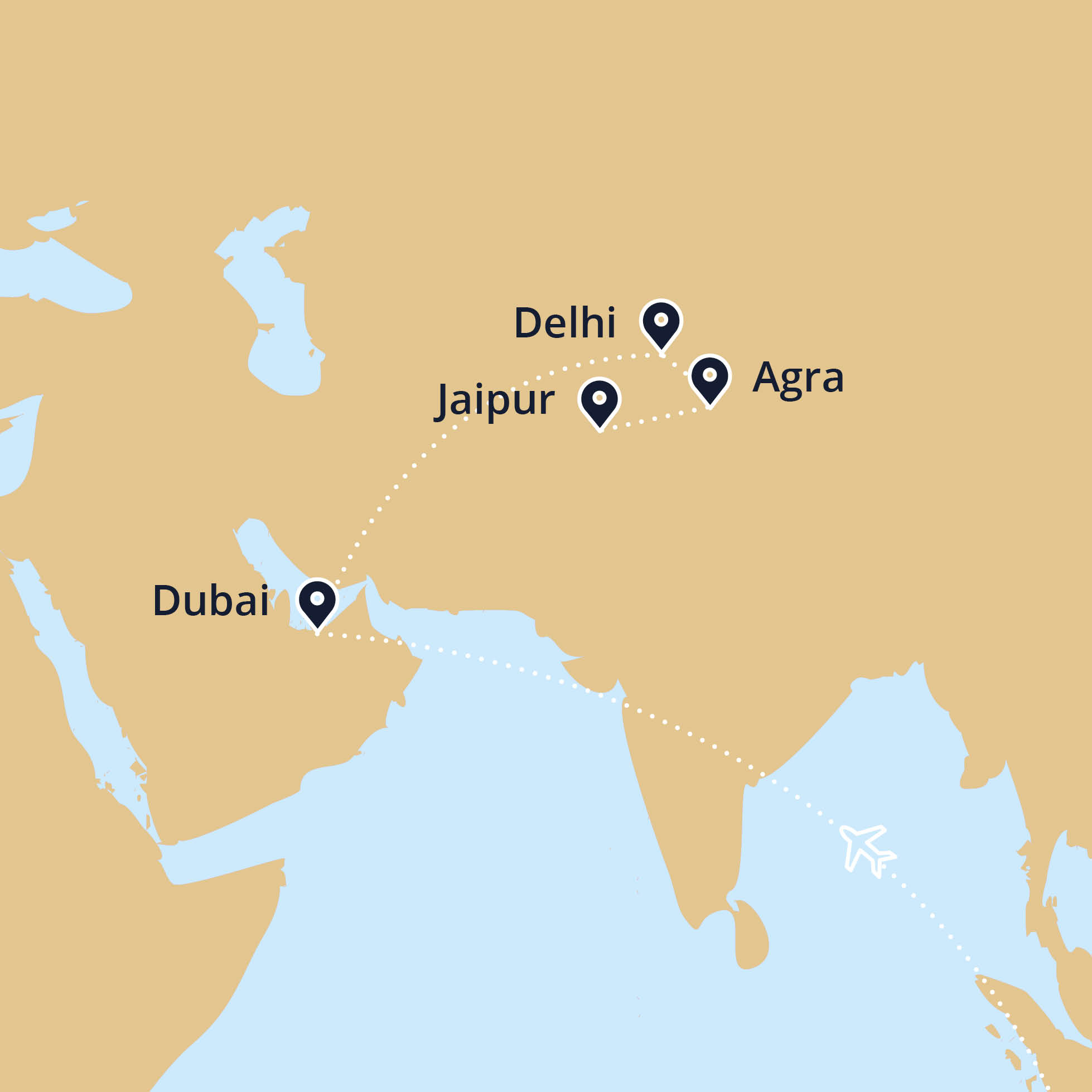 World map showing india dubai electrical wire spools free raci highlights of india dubai holiday planet australia golden triangle map highlights of india dubai world map showing india dubai world map showing india dubai gumiabroncs Image collections